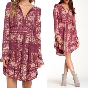 Free People Bridgette Boho Peasant Dress
